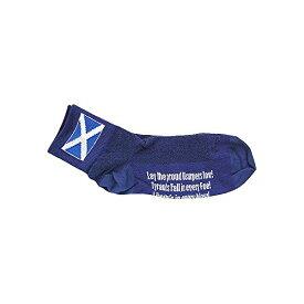 チェーン パーツ 自転車 コンポーネント サイクリング SGSCO 【送料無料】Sockguy Scottish Flag Blue Classic - 3 Inch Socks (S/M , Blue)チェーン パーツ 自転車 コンポーネント サイクリング SGSCO