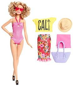 73629528d5c バービー バービー人形 日本未発売 DGY74 Barbie Glam Vacation Doll, Pink Polka Dotバービー