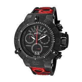 インヴィクタ インビクタ サブアクア 腕時計 メンズ 0877 Invicta Men's 0877 Subaqua Noma III Chronograph Black Dial Black Silicone Watchインヴィクタ インビクタ サブアクア 腕時計 メンズ 0877