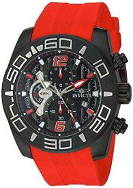 インヴィクタ インビクタ プロダイバー 腕時計 メンズ 22810 Invicta Men's Pro Diver Stainless Steel Quartz Watch with Silicone Strap, red, 25 (Model: 22810)インヴィクタ インビクタ プロダイバー 腕時計 メンズ 22810
