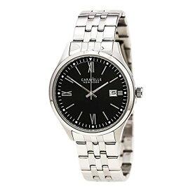 ブローバ 腕時計 メンズ 43B144 Bulova Men's Quartz Watch with Stainless-Steel Strap, Silver, 9 (Model: 43B144)ブローバ 腕時計 メンズ 43B144
