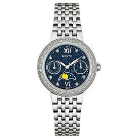 ブローバ 腕時計 レディース 96R210 Bulova Women's Quartz Watch with Stainless-Steel Strap, Silver, 16 (Model: 96R210)ブローバ 腕時計 レディース 96R210