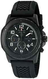 ブローバ 腕時計 メンズ 98B223 Bulova Men's 98B223 Marine Star Analog Display Quartz Black Watchブローバ 腕時計 メンズ 98B223