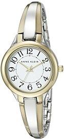 アンクライン 腕時計 レディース AK/2453WTTT 【送料無料】Anne Klein Women's AK/2453WTTT Easy To Read Dial Two-Tone Bangle Watchアンクライン 腕時計 レディース AK/2453WTTT