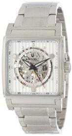 ブローバ 腕時計 メンズ 96A107 Bulova Men's 96A107 Automatic White Dial Bracelet Watchブローバ 腕時計 メンズ 96A107