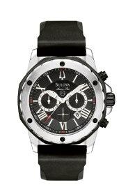 腕時計 ブローバ メンズ 98B127 【送料無料】Bulova Men's 98B127 Marine Star Black Dial Strap Watch腕時計 ブローバ メンズ 98B127