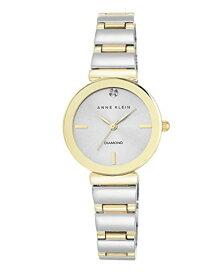 腕時計 アンクライン レディース AK/2435SVTT 【送料無料】Anne Klein Women's AK/2435SVTT Diamond-Accented Two-Tone Bracelet Watch腕時計 アンクライン レディース AK/2435SVTT