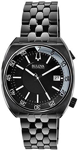 ブローバ 腕時計 メンズ 98B219 Bulova Accutron II Black Dial Stainless Steel Men's Watch 98B219ブローバ 腕時計 メンズ 98B219