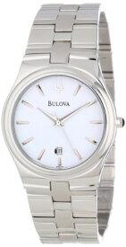 ブローバ 腕時計 メンズ 96B106 Bulova Men's 96B106 Bracelet White Dial Stainless Steel Watchブローバ 腕時計 メンズ 96B106