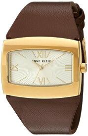 【即納】【送料無料】当店1年保証 アン・クライン Anne Klein レディース腕時計 AK/2632CHBN ケース横幅37mm