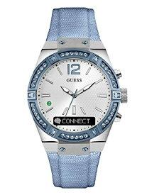 ゲス GUESS 腕時計 レディース C0002M5 GUESS Women's Stainless Steel Connect Smart Watch - Amazon Alexa, iOS and Android Compatible iOS and Android Compatible, Color: Blue Denim (Model: C0002M5)ゲス GUESS 腕時計 レディース C0002M5