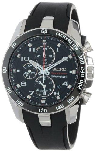 """セイコー 腕時計 メンズ SNAE87 Seiko Men's SNAE87 """"Sportura Classic"""" Stainless Steel Watchセイコー 腕時計 メンズ SNAE87"""