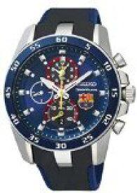 セイコー 腕時計 メンズ SPC089P2 Seiko Sportura FC Barcelona Chronograph Blue Dial Blue Silicone Mens Watch SPC089P2セイコー 腕時計 メンズ SPC089P2