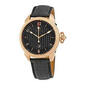 腕時計 ルシアンピカール メンズ LP-40053-RG-01 【送料無料】Lucien Piccard Trevi Black Dial Men's Watch 40053-RG-01腕時計 ルシアンピカール メンズ LP-40053-RG-01