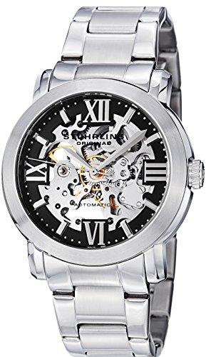 ストゥーリングオリジナル 腕時計 メンズ 430G.33111 Stuhrling Original Men's 430G.33111 Classic Winchester Supreme Automatic Skeleton Black Dial Watchストゥーリングオリジナル 腕時計 メンズ 430G.33111
