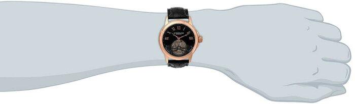 ストゥーリングオリジナル腕時計メンズ541.334XK1StuhrlingOriginalMen's541.334XK1TourbillonAnalogMechanicalHandWindBlackAlligatorLeatherWatchストゥーリングオリジナル腕時計メンズ541.334XK1