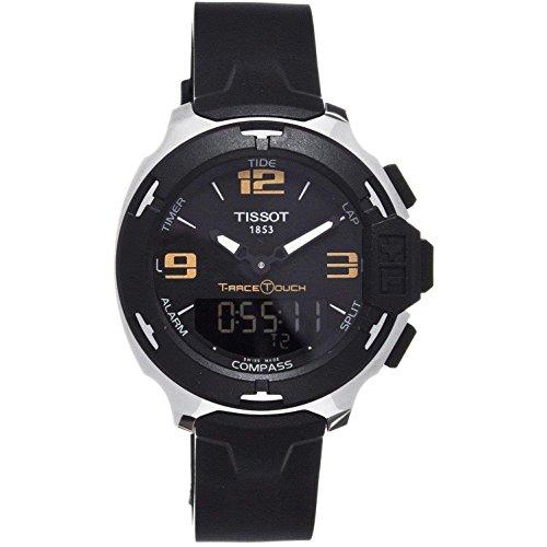 ティソ 腕時計 メンズ T081.420.17.057.00 Tissot T-Race Touch Analog Digital Dial Black Synthetic Strap Mens Watch T0814201705700ティソ 腕時計 メンズ T081.420.17.057.00