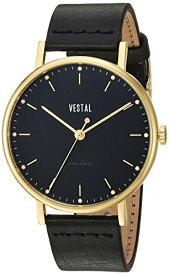 腕時計 ベスタル ヴェスタル レディース SPH3L05 【送料無料】Vestal 'The Sophisticate' Quartz Stainless Steel and Leather Dress Watch, Color: Black (Model: SPH3L05)腕時計 ベスタル ヴェスタル レディース SPH3L05