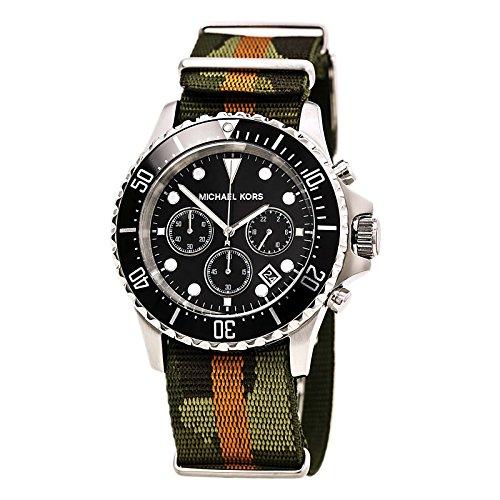 マイケルコース 腕時計 メンズ マイケル・コース アメリカ直輸入 MK8399 Michael Kors Everest Grosgrain Black Dial Mens Watch MK8399マイケルコース 腕時計 メンズ マイケル・コース アメリカ直輸入 MK8399