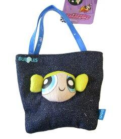 パワーパフガールズ ぬいぐるみ ドール 人形 カートゥーンネットワーク Cartoon Network Powerpuff Girls Denim Novelty Bag Handbag - Blue Bubblesパワーパフガールズ ぬいぐるみ ドール 人形 カートゥーンネットワーク
