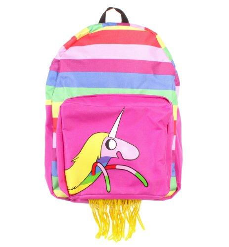 アドベンチャータイム バッグ バックパック リュックサック カートゥーンネットワーク Bioworld Adventure Time Lady Rainicorn Hooded Backpack, Multi-Coloredアドベンチャータイム バッグ バックパック リュックサック カートゥーンネットワーク