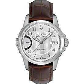 ブローバ 腕時計 メンズ 63B171 Bulova Accu Swiss 63B171 Mens Accu Swiss Brown Leather Strap Watchブローバ 腕時計 メンズ 63B171