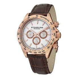 ストゥーリングオリジナル 腕時計 メンズ 564L.03 Stuhrling Original Men's 564L.03 Triumph Swiss Quartz Multifunction Rose Tone Watchストゥーリングオリジナル 腕時計 メンズ 564L.03