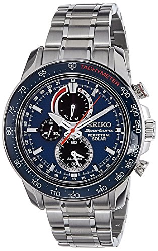 セイコー 腕時計 メンズ SSC355P1 Seiko Men's SSC355P1 Sportura Blue Watchセイコー 腕時計 メンズ SSC355P1