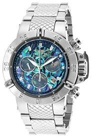 インヴィクタ インビクタ サブアクア 腕時計 メンズ 90141 Invicta 50mm Subaqua Noma III Swiss Quartz Chronograph Abalone Dial Bracelet Watch (90141)インヴィクタ インビクタ サブアクア 腕時計 メンズ 90141