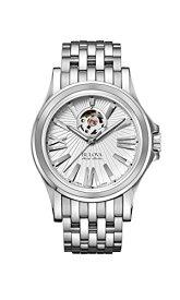 ブローバ 腕時計 メンズ 63A125 Bulova Men's Kirkwood Swiss-Automatic Watch with Stainless-Steel Strap, Silver, 20 (Model: 63A125)ブローバ 腕時計 メンズ 63A125