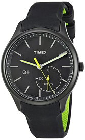 タイメックス 腕時計 メンズ TW2P95100 Timex Men's TW2P95100 IQ+ Move Activity Tracker Gray/Black/Lime Silicone Strap Smart Watchタイメックス 腕時計 メンズ TW2P95100