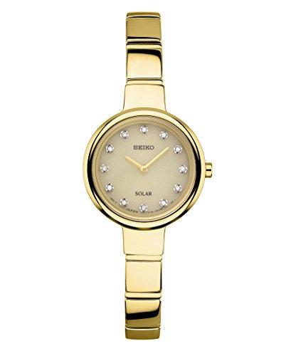 セイコー 腕時計 レディース SUP366 Seiko Women's 'Jewelry Bangle' Quartz Stainless Steel Casual Watch, Color:Gold-Toned (Model: SUP366)セイコー 腕時計 レディース SUP366