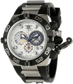 インヴィクタ インビクタ サブアクア 腕時計 メンズ 11511 Invicta Men's 11511 Subaqua Noma IV Chronograph Silver Dial Black Polyurethane Watchインヴィクタ インビクタ サブアクア 腕時計 メンズ 11511
