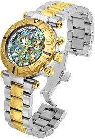 インヴィクタ インビクタ サブアクア 腕時計 メンズ Invicta Reserve 47mm Subaqua Noma I Quartz Chronograph Abalone Dial Two-Tone Bracelet Watch (22232)インヴィクタ インビクタ サブアクア 腕時計 メンズ