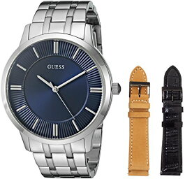 ゲス GUESS 腕時計 メンズ U0726G2 GUESS Men's U0726G2 Men's Classic Interchangeable Wardrobe Watch Set with Blue Dialゲス GUESS 腕時計 メンズ U0726G2