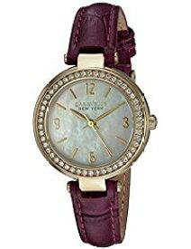 ブローバ 腕時計 レディース 44L176 Bulova Women's Stainless Steel Quartz Watch with Leather-Crocodile Strap, Purple, 7 (Model: 44L176)ブローバ 腕時計 レディース 44L176