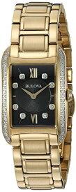 ブローバ 腕時計 レディース 98R228 Bulova Women's Analog-Quartz Watch with Stainless-Steel Strap, Gold, 16 (Model: 98R228)ブローバ 腕時計 レディース 98R228