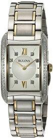 ブローバ 腕時計 レディース 98R227 Bulova Women's Analog-Quartz Watch with Stainless-Steel Strap, Multi, 16 (Model: 98R227)ブローバ 腕時計 レディース 98R227