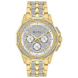 ブローバ 腕時計 メンズ 98C126 Bulova Men's 98C126 Swarovski Crystal Pave Bracelet Watchブローバ 腕時計 メンズ 98C126