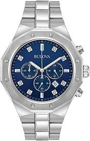 ブローバ 腕時計 メンズ 96D138 Bulova Men's Analog-Quartz Watch with Stainless-Steel Strap, Silver, 24 (Model: 96D138)ブローバ 腕時計 メンズ 96D138