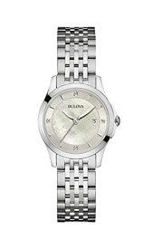 ブローバ 腕時計 レディース 96P160 Bulova womens 96P160 14mm Stainless Steel Silver Watch Braceletブローバ 腕時計 レディース 96P160