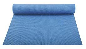 ヨガマット フィットネス 【送料無料】YogaAccessories 1/8'' Lightweight Classic Yoga Mat and Exercise Pad - Sky Blueヨガマット フィットネス