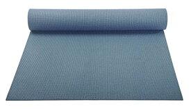 ヨガマット フィットネス 【送料無料】YogaAccessories 1/8'' Lightweight Classic Yoga Mat and Exercise Pad - Slate Blueヨガマット フィットネス