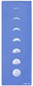 ヨガマット フィットネス 【送料無料】Blue Lunar Yoga Mat - Machine Washable, Printed, Non-Slip, Thick, Extra Long, Best Grip/Combo Mat, Great for Sweaty Practiceヨガマット フィットネス