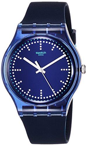スウォッチ 腕時計 メンズ SUON121 Swatch Unisex Blue Pillow 37Mm Wrist Watch # Suon121スウォッチ 腕時計 メンズ SUON121