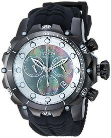 インヴィクタ インビクタ ベノム 腕時計 メンズ 20399 【送料無料】Invicta Men's Venom Stainless Steel Swiss-Quartz Watch with Silicone Strap, Black, 26.9 (Model: 20399)インヴィクタ インビクタ ベノム 腕時計 メンズ 20399