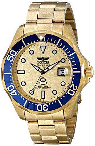 インヴィクタ インビクタ プロダイバー 腕時計 メンズ 17108 Invicta Men's 17108 Pro Diver Analog Display Swiss Quartz Gold Watchインヴィクタ インビクタ プロダイバー 腕時計 メンズ 17108