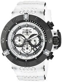インヴィクタ インビクタ サブアクア 腕時計 メンズ 24360 Invicta Men's Subaqua Stainless Steel Quartz Watch with Silicone Strap, White, 28 (Model: 24360)インヴィクタ インビクタ サブアクア 腕時計 メンズ 24360