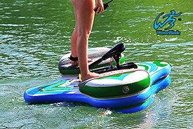 スタンドアップパドルボード マリンスポーツ サップボード SUPボード 【送料無料】Waterblade Motorized Electric SUP Stingray (Green/Blue)スタンドアップパドルボード マリンスポーツ サップボード SUPボード