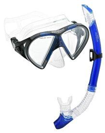 シュノーケリング マリンスポーツ PAQTEMSC-BL 【送料無料】Phantom Aquatics Cancun Mask Snorkel Combo, Blueシュノーケリング マリンスポーツ PAQTEMSC-BL